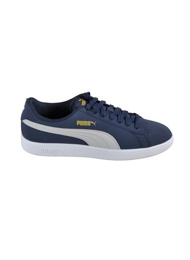 Puma Erkek Siyah Smash v2 Buck Sneakers 36516015 Siyah
